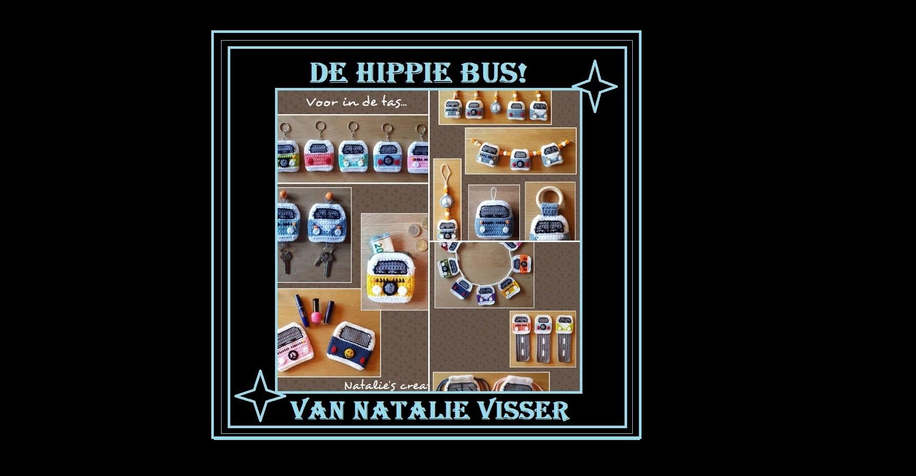 Natalies Kooppatroon De Hippie Bus Haakwerkje